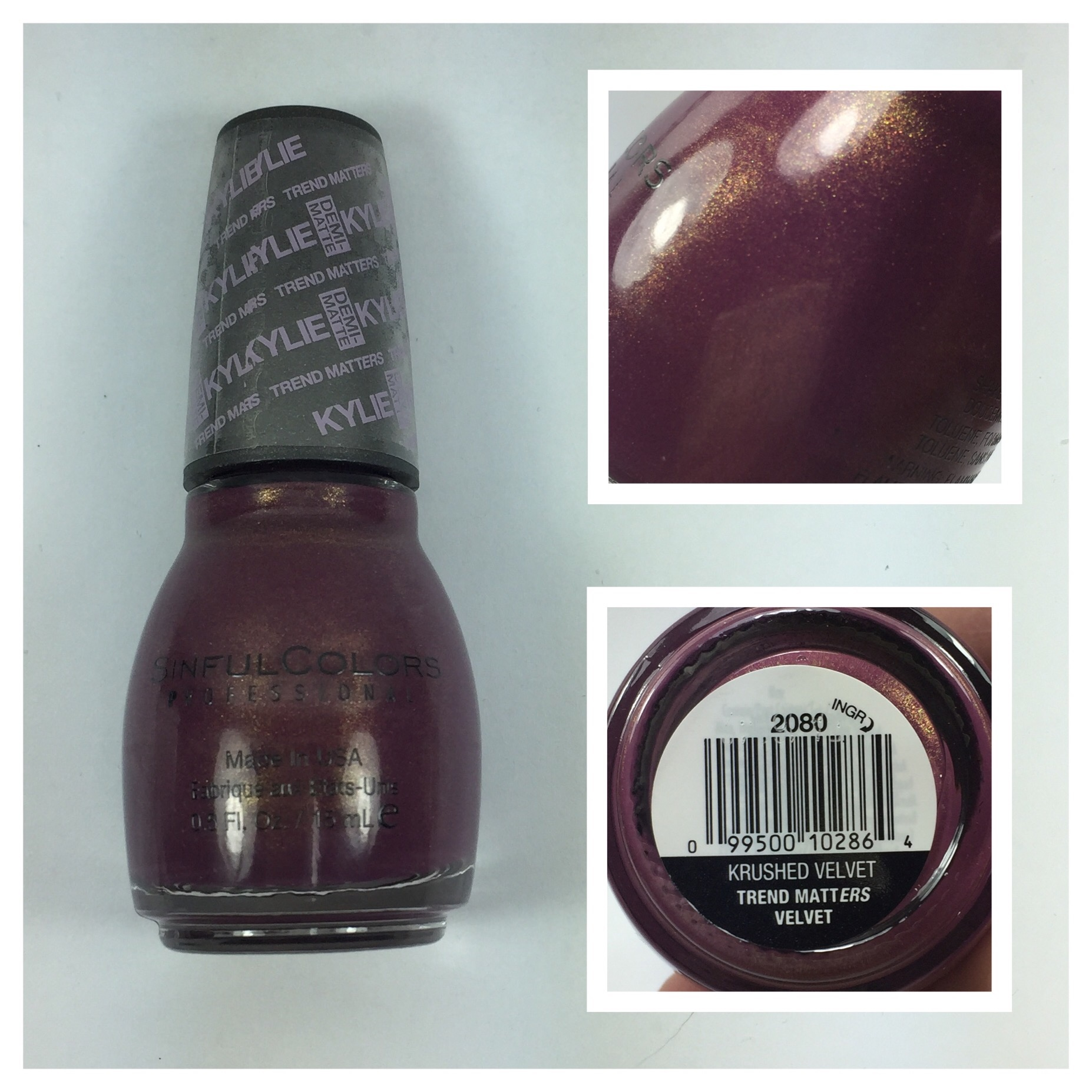 Sinful Colors Kylie Jenner Trend Matters Mauve On, Karma and Krushed ...